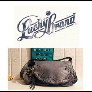 Lucky Brand Modesto Studded Crossbody Handbag